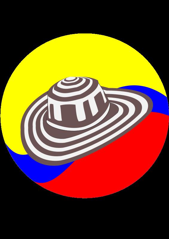Free Clipart: Sombrero Vueltiao.