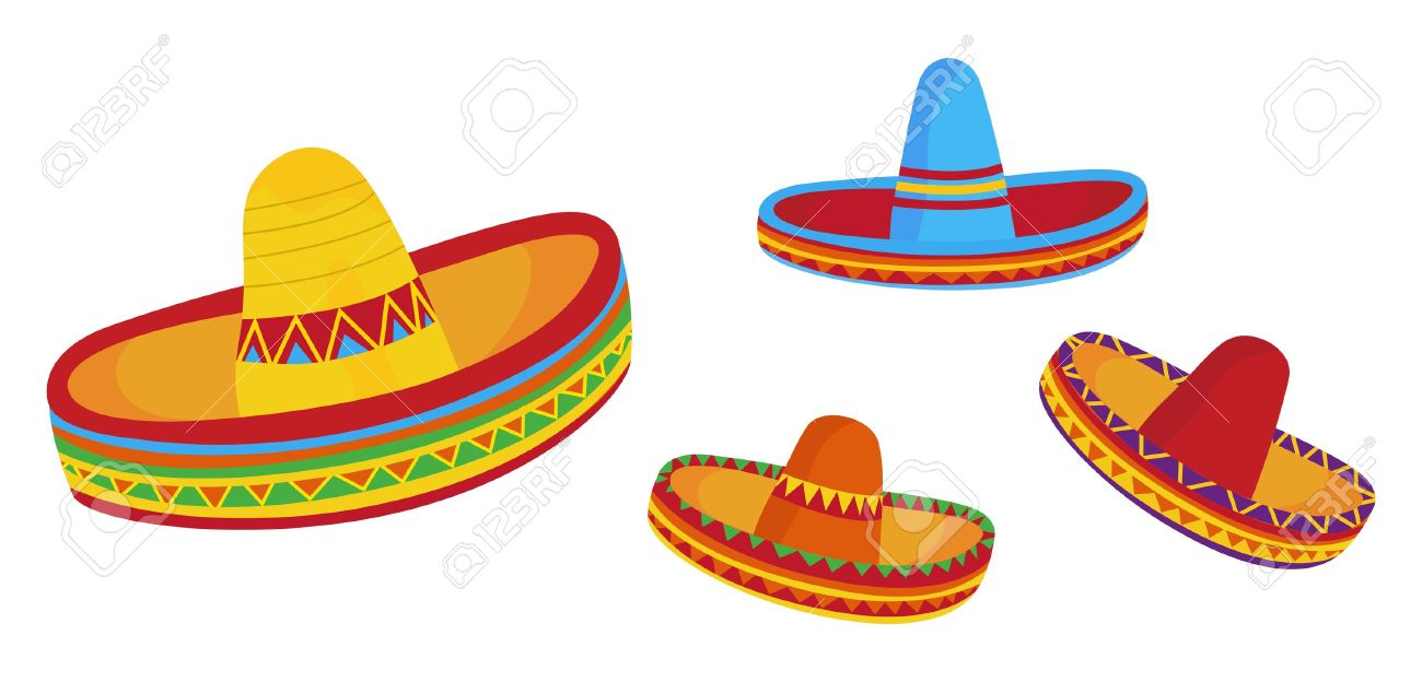 Sombreros clipart - Clipground