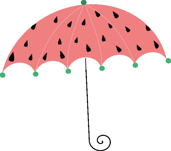 Watermelon Umbrella Clip Art at Clker.com.