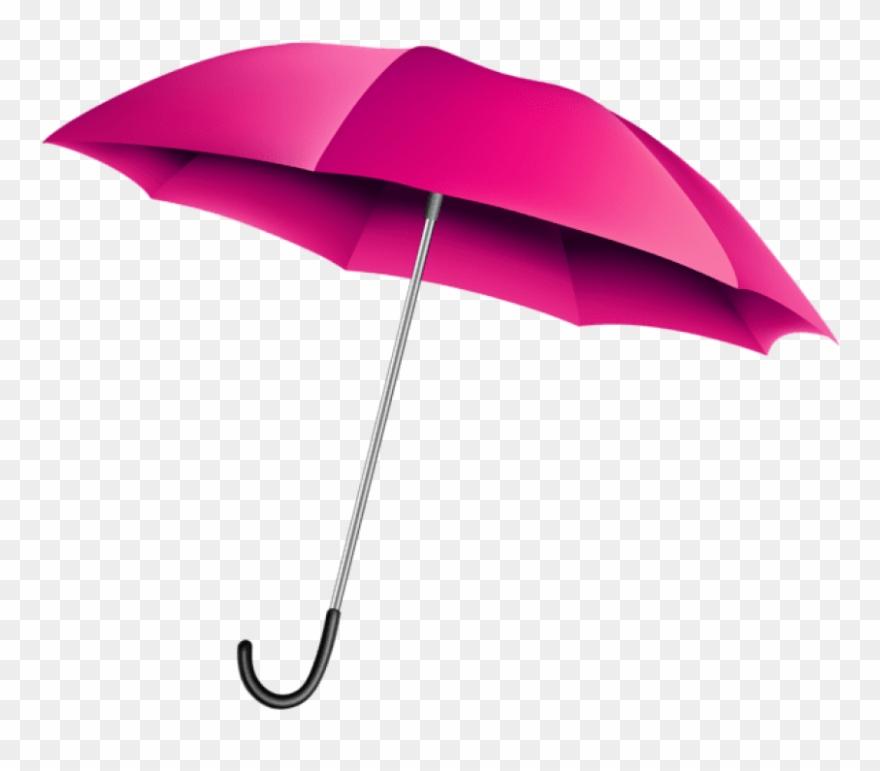 Free Png Download Pink Umbrella Transparent Clipart.