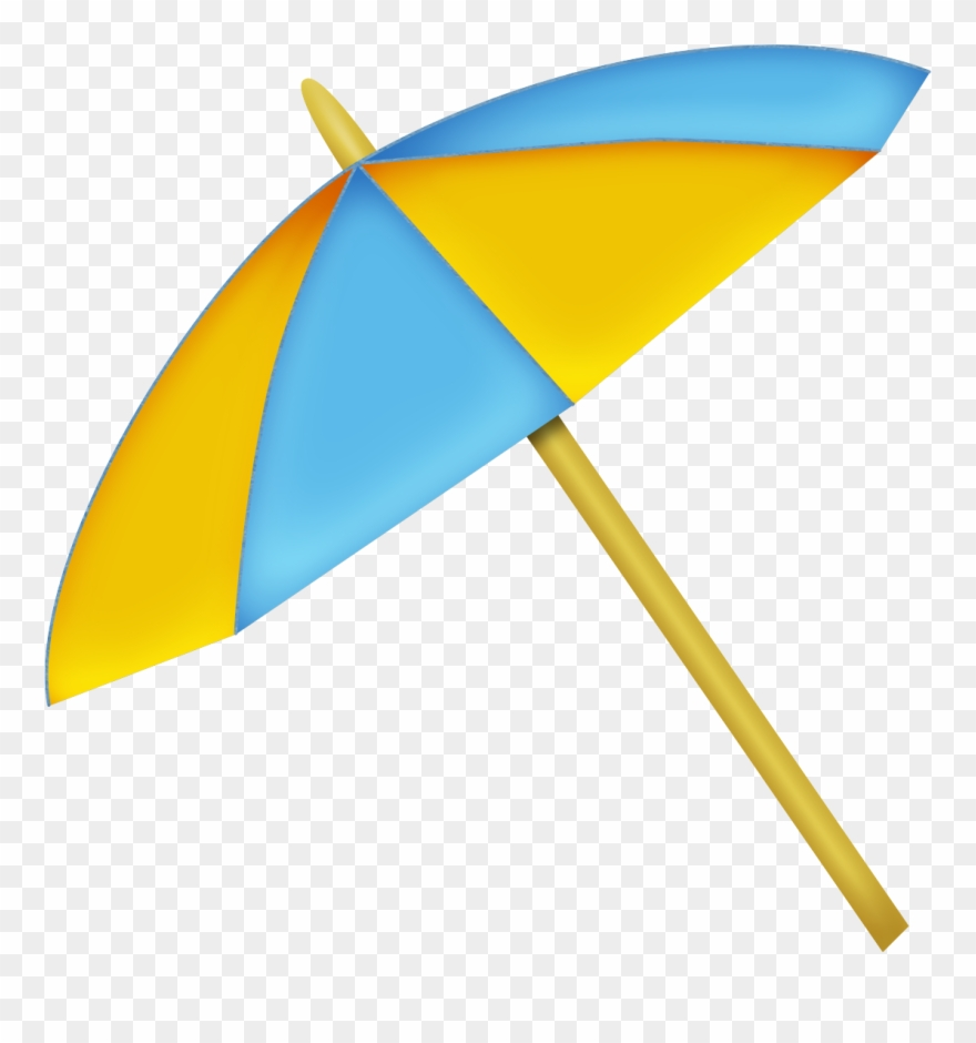 Beach Umbrella Summer Clipart, Beach Umbrella, Filing.