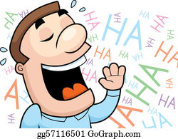 Laughing Clip Art.