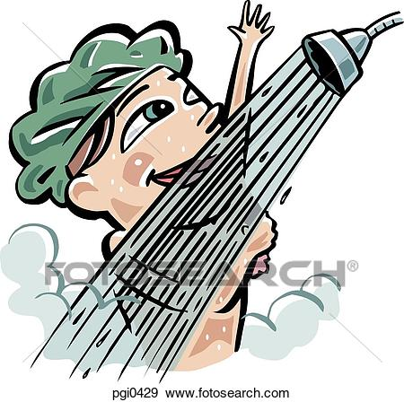 Taking a shower clipart 9 » Clipart Station.
