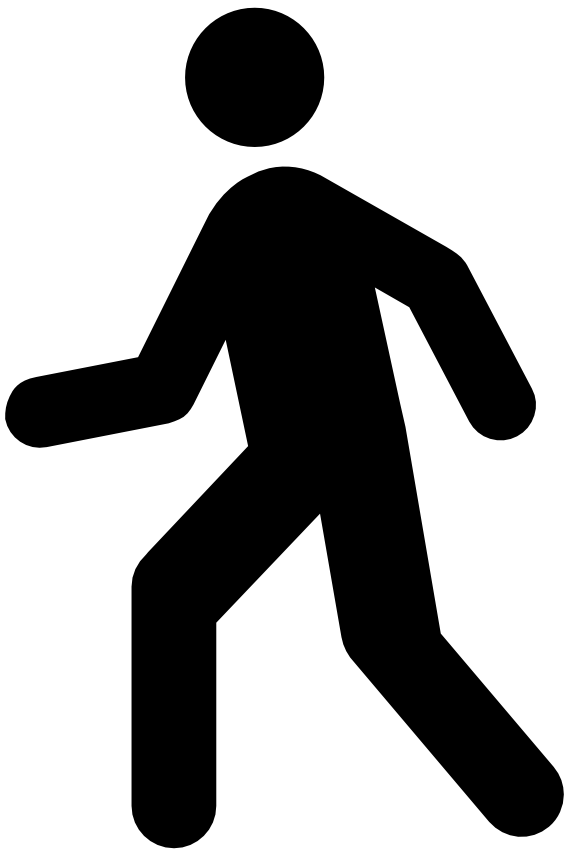 Clipart walking fast, Clipart walking fast Transparent FREE.