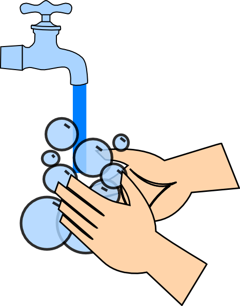 Free Clipart Of Washing Hands.