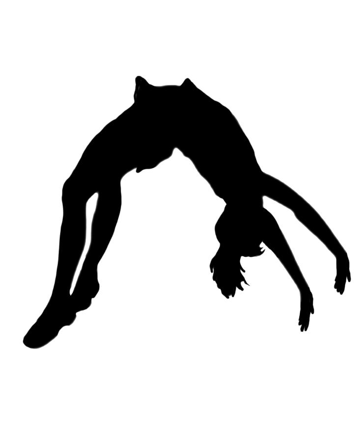 Somersault Clipart.