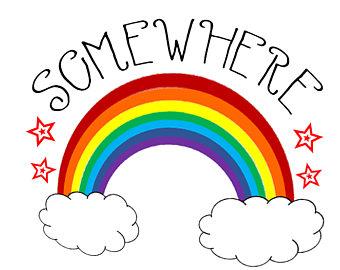 Somewhere Over The Rainbow Clipart.