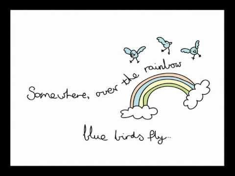 Over the rainbow & a wonderful world animation..