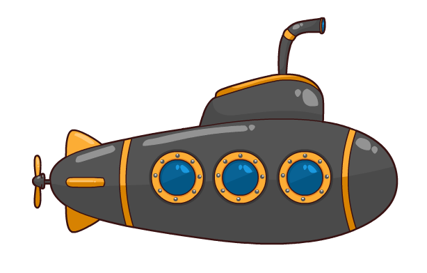 Free to Use & Public Domain Submarine Clip Art.