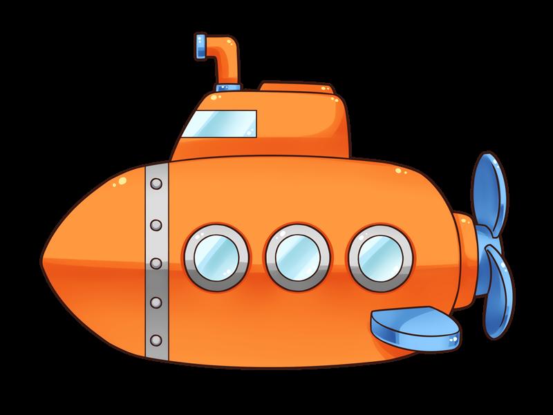 Free to Use & Public Domain Submarine Clip Art.