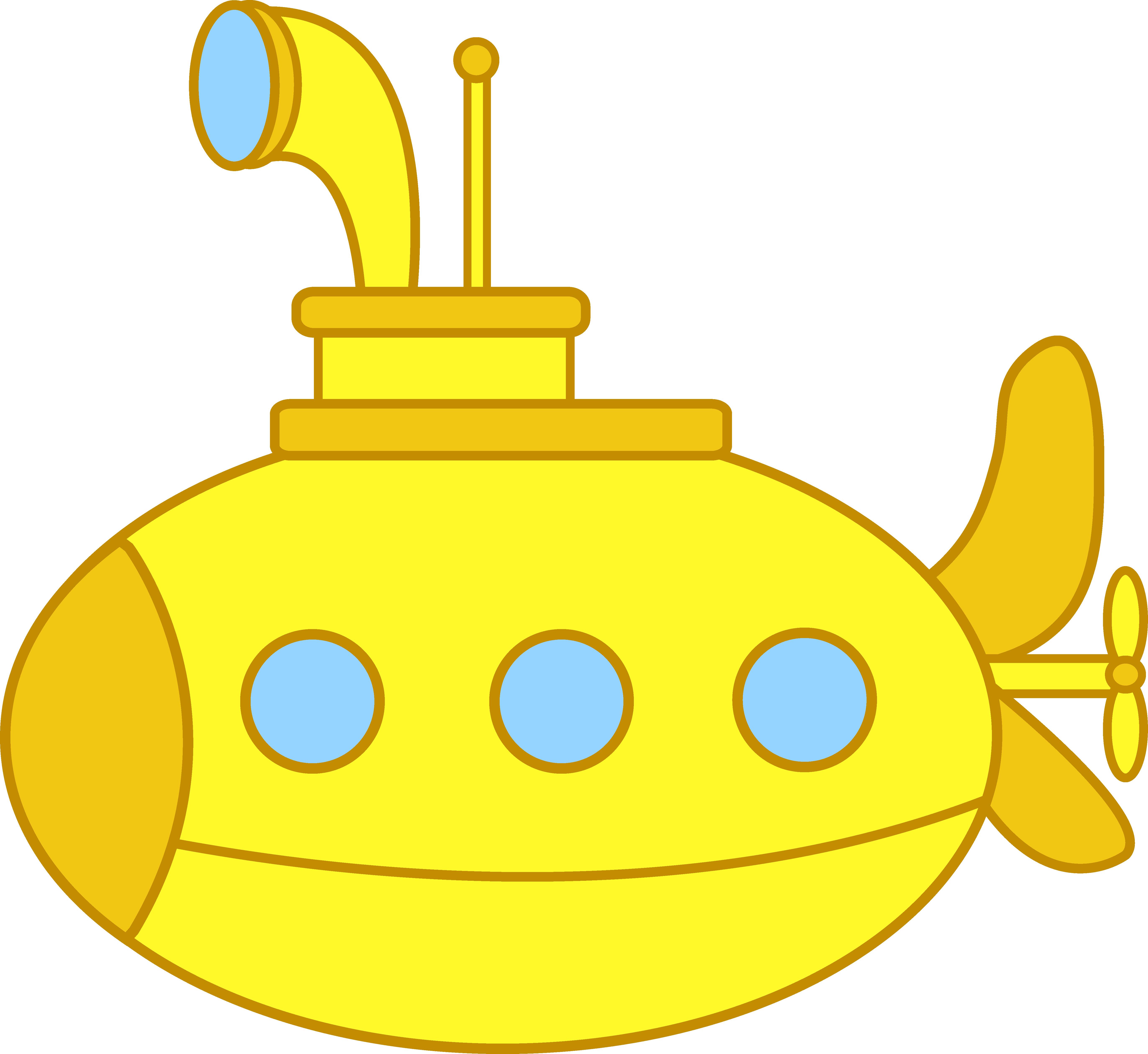 Submarine Clip Art.