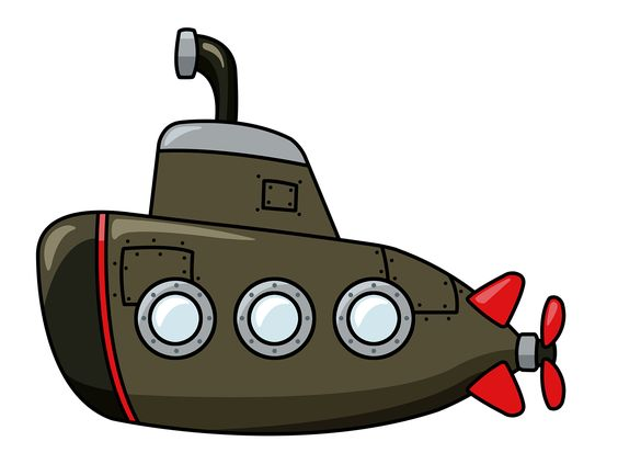 Free to Use & Public Domain Submarine Clip Art:.
