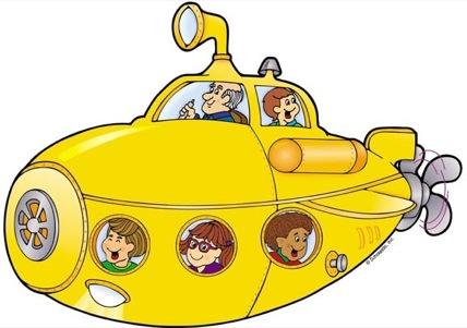 Similiar Yellow Submarine Clip Art Keywords.