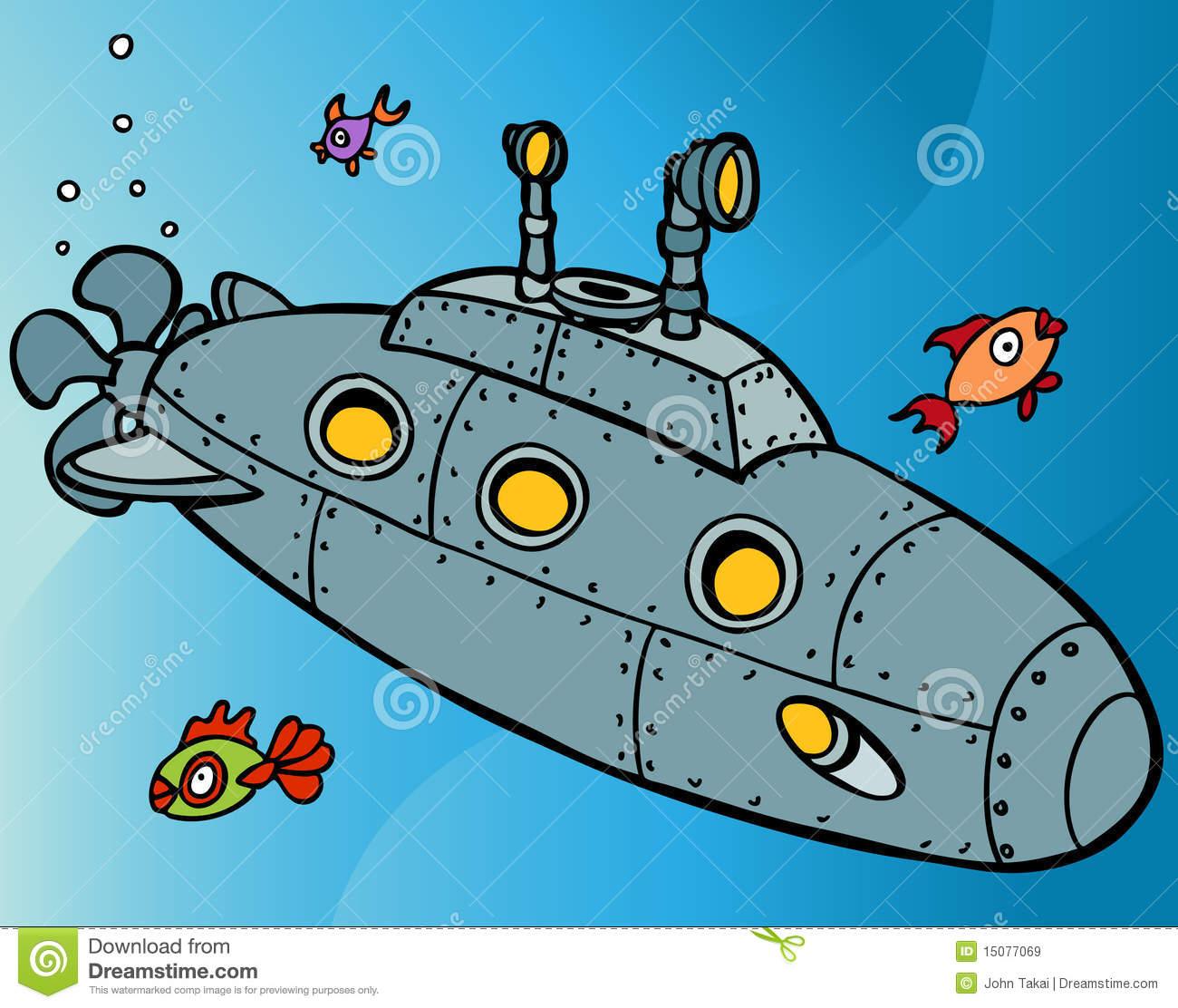 Submarine Clipart.
