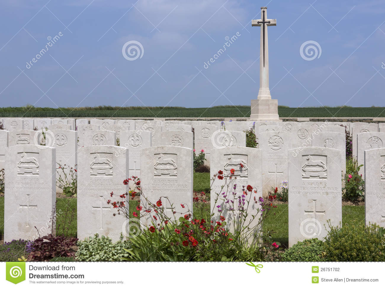 British War Cemetery.