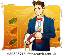 Sommelier Illustrations and Stock Art. 123 sommelier illustration.
