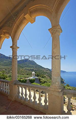 "Pictures of ""Son Marroig Mansion, Serra de Tramuntana, Majorca."