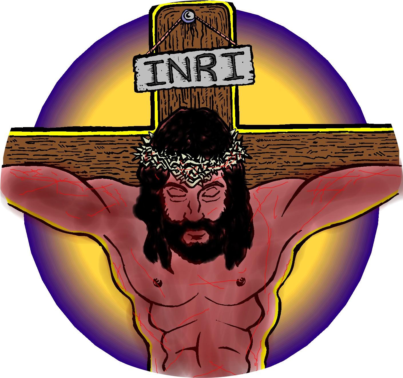 Jesus son of god clipart.