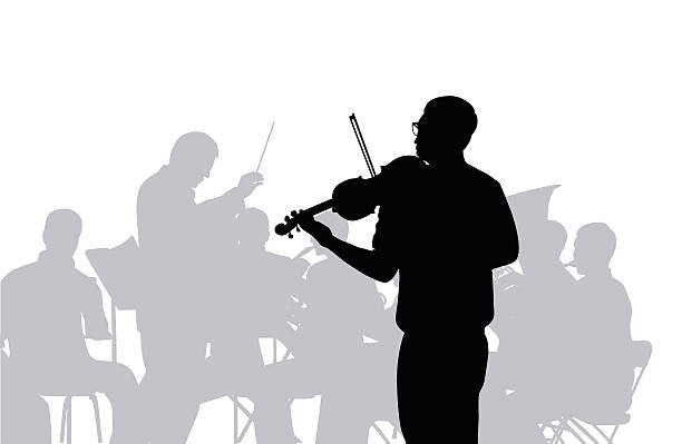 Orchestra Conductor Cartoons Clip Art, Vector Images.