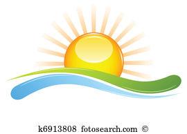 Sonnenuntergang Clip Art und Illustrationen. 33.444.