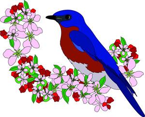 Songbird Free Clipart.