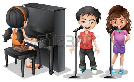 Boy Sing A Song Clipart Stock Photos & Pictures. Royalty Free Boy.