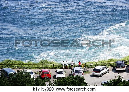 Stock Photography of beautiful Jeju Island in South Korea.