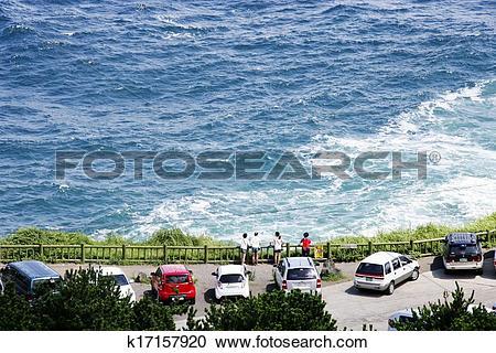 Stock Photography of beautiful Jeju Island in South Korea.