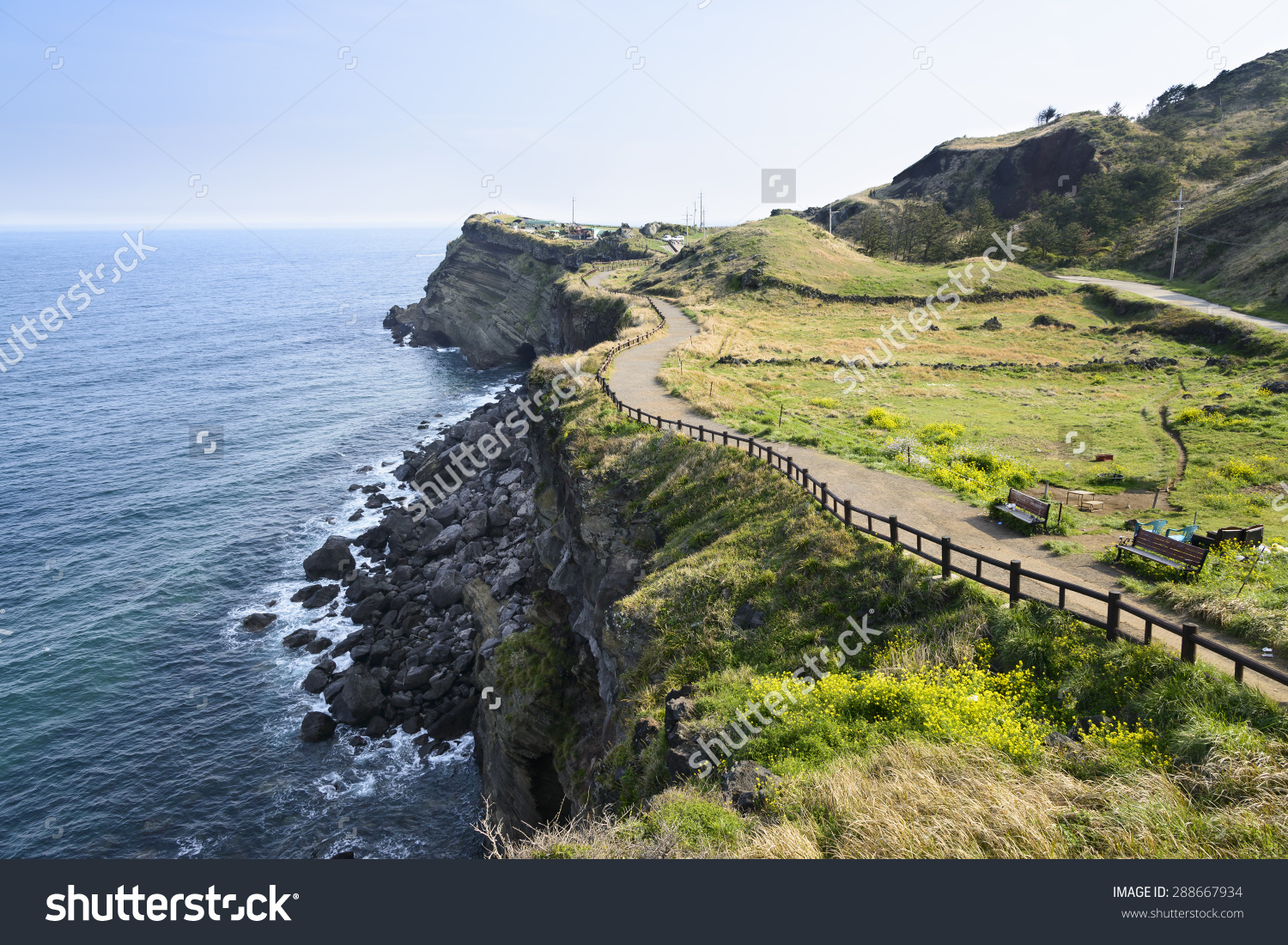 View Olle No 10 Course Songaksan Stock Photo 288667934.