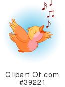 Clipart of Song Birds #1.
