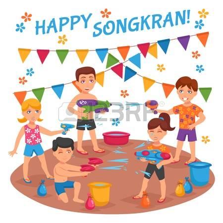 Songkran festival clipart 10 » Clipart Station.