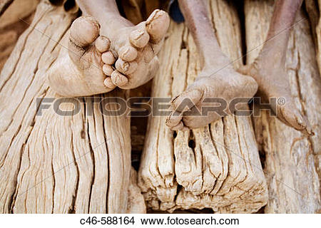 Stock Photo of Village of Songo, Dogon Country, Mali, Africa c46.