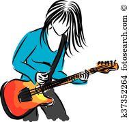 Songwriter Clipart Illustrations. 38 songwriter clip art vector.