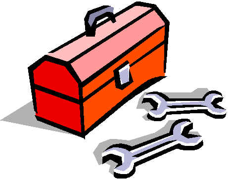 Toolbox songwriter clip art image #41649.