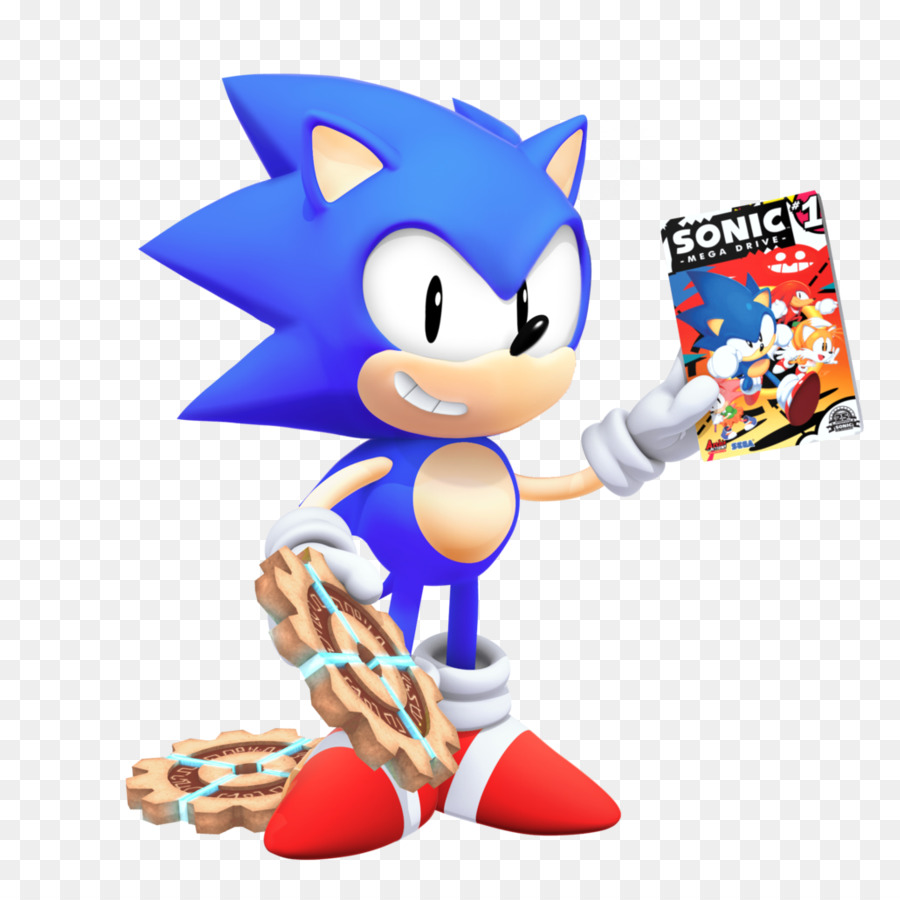 Sonic The Hedgehog clipart.