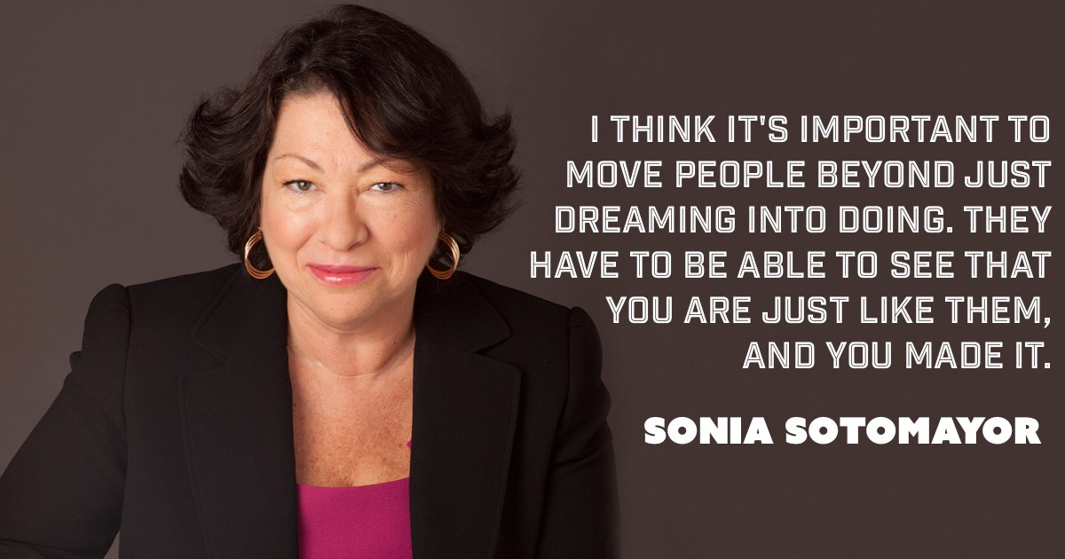 The Life and Legacy of Sonia Sotomayor.