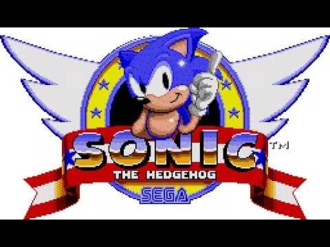 Sonic 1 logo..