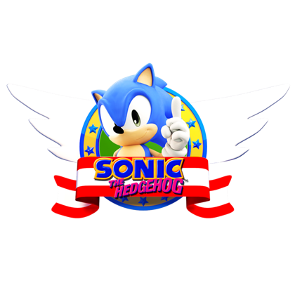 Sonic 1 Logo (Remastered).
