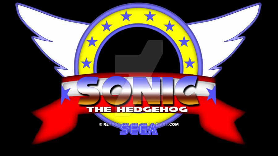 Sonic the hedgehog Logos.