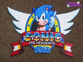 Sonic 1 Logo GameGear by SerenaAzureth.