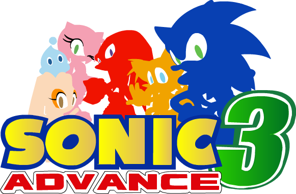 Sonic Video Game Title Logos.