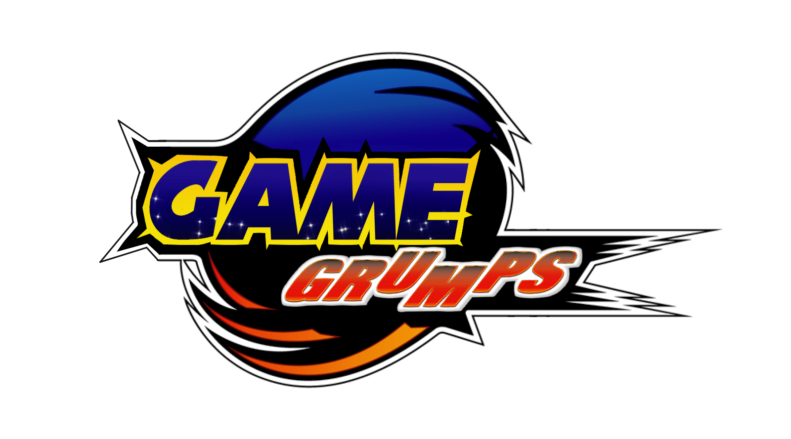 Game Grumps logo in the style of Sonic Adventure 2 : gamegrumps.