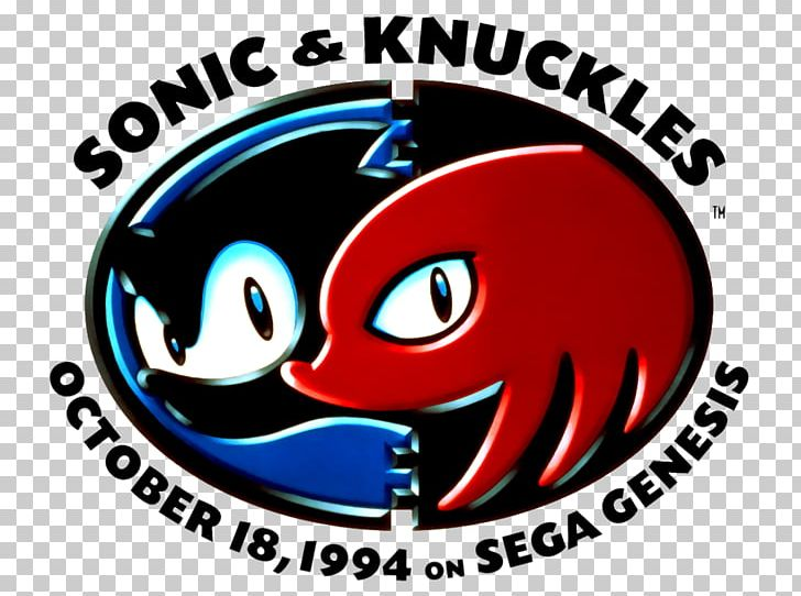 Sonic & Knuckles Sonic The Hedgehog 3 Recreation Brand PNG.