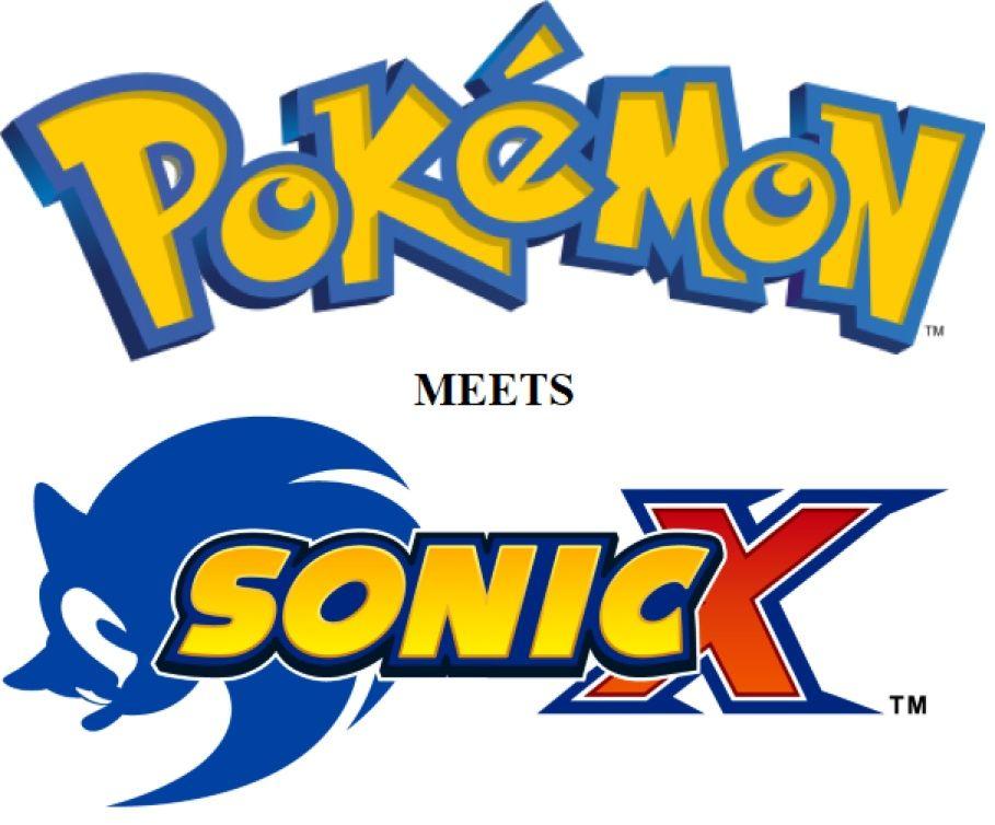 Pokémon meets Sonic X.