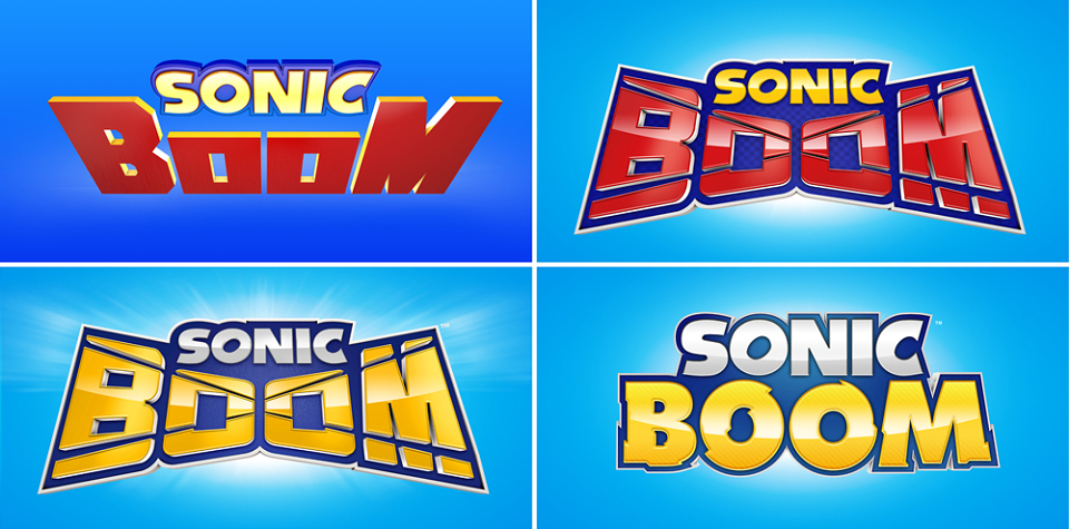 A look at some unused Sonic Boom logos.
