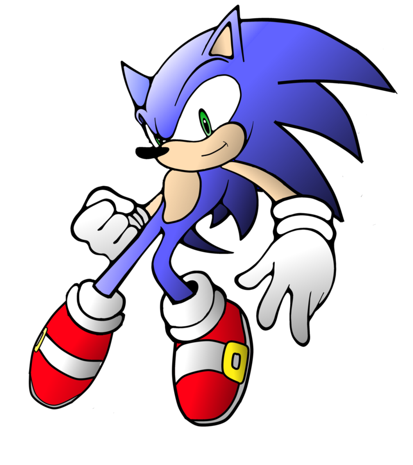 Sonic Clip Art Free.