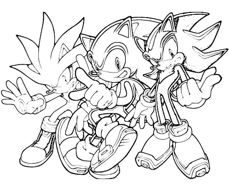 Sonic Shadow Coloring Pages Castrophotos
