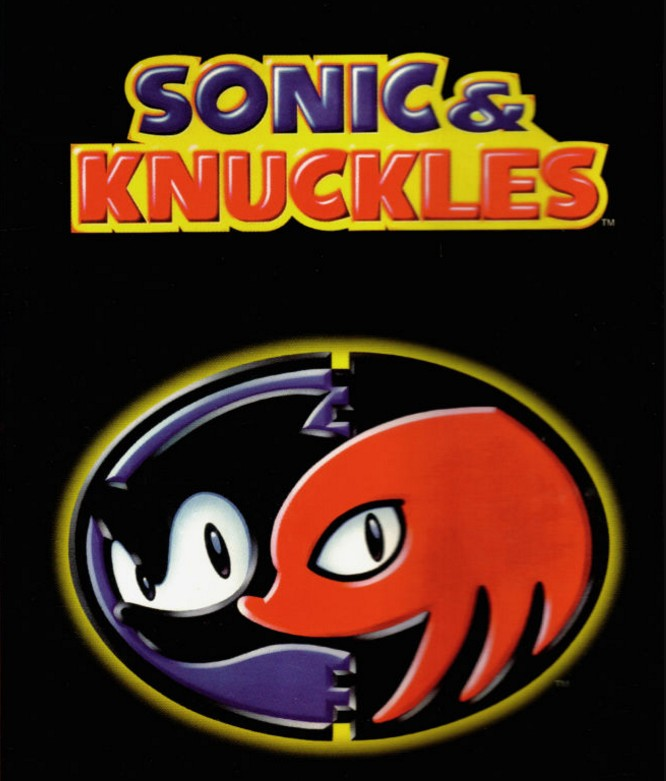 Sonic & Knuckles Font.