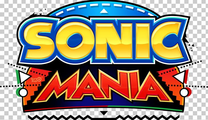 Sonic Mania Logo Game Font Brand PNG, Clipart, Area, Art.