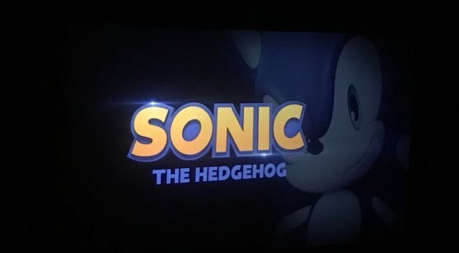 Paramount Reveals Sonic Movie Placeholder Logo.